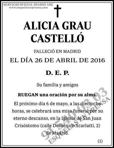 Alicia Grau Castelló